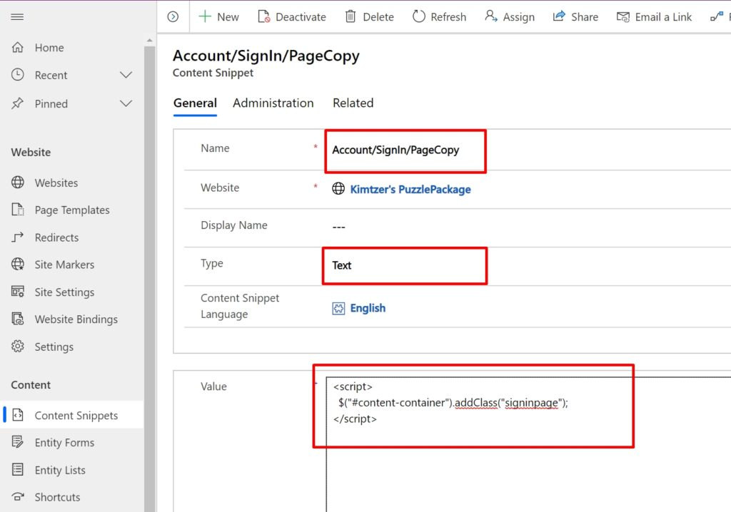 "Content snippet ""Account/SignIn/PageCopy"""